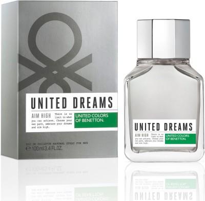 benetton United Dreams Aim High Eau de Toilette  -  100 ml