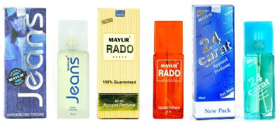 Mayur Best of all combo(3pcs of 60ml) Eau de Parfum  -  180 ml