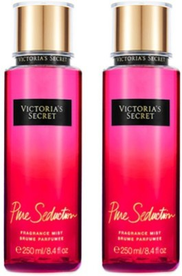 Victorias Secret New Pure Seduction Fragrance Mist-2pack Eau de Parfum - 500 ml(For Girls, Women)