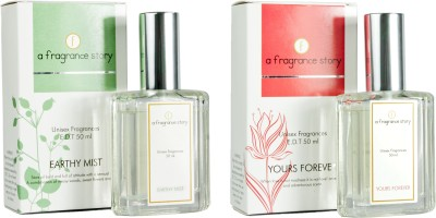 A Fragrance Story Combo Pack - Earthy Mist + Yours Forever EDT  -  100 ml