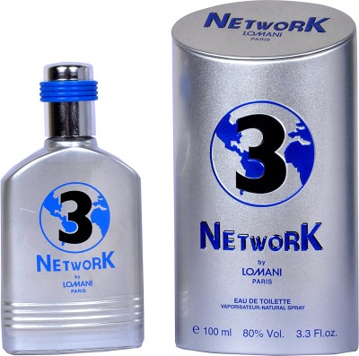 Lomani Network 3 EDT  -  100 ml