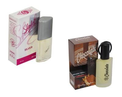 My Tunes Combo Pack Chocolate 30 Ml & Sherlin Silver - 20 ml Eau de Parfum  -  50 ml