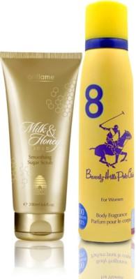 beverly hills polo club polo perfume and sugar scrub set Eau de Parfum  -  100 ml