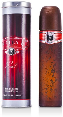 Cuba Cuba Red Eau De Toilette Spray Eau de Toilette  -  100 ml