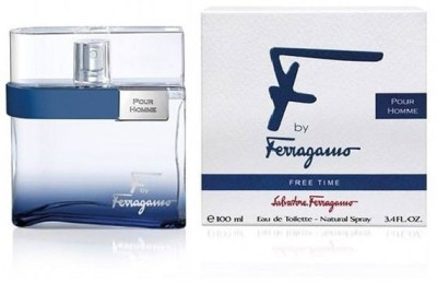 Salvatore Ferragamo F by Ferragamo Free Time EDT  -  100 ml