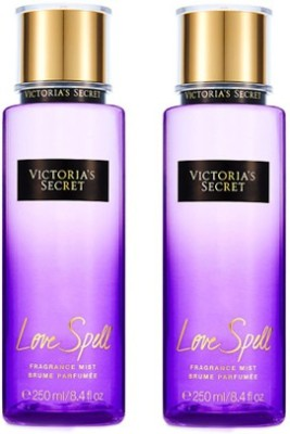 Victorias Secret New Love Spell Fragrance Mist-2pack Eau de Parfum - 500 ml(For Girls, Women)