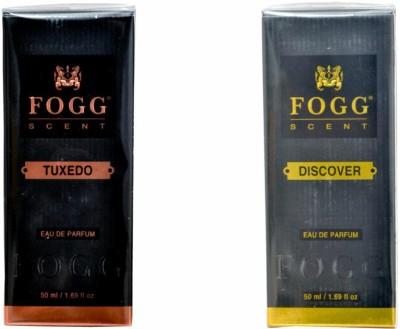 FOGG Tuxedo And Discover Combo Eau de Parfum - 100 ml(For Men)