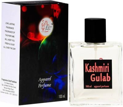 Fragrance And Fashion Kashmiri Gulab Eau de Toilette  -  100 ml