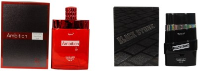 Ramco Ambition and Black Stone Combo Eau de Parfum  -  200 ml