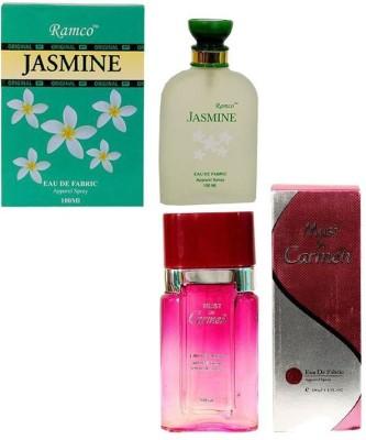 Ramco Jasmine and Must De Carmen Pink Combo Eau de Parfum  -  200 ml