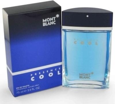 Mont Blanc Presence Cool EDT  -  75 ml