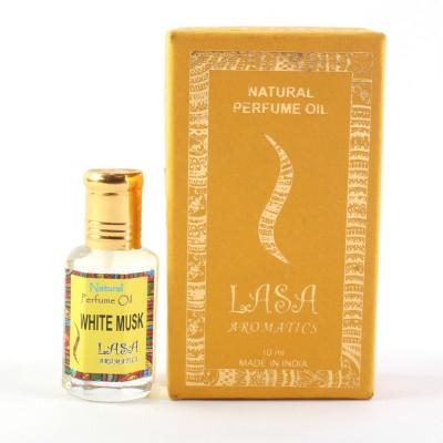 Lasa Aromatics Perfume Oil White Musk Eau de Parfum  -  10 ml