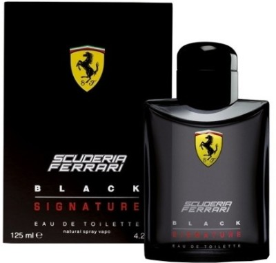 Ferrari Scuderia Black Signature EDT  -  125 ml