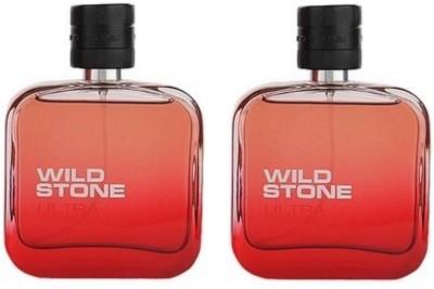 Wild Stone Ultra Sensual Red Pack Of 2 Eau de Parfum - 200 ml(For Men, Boys)