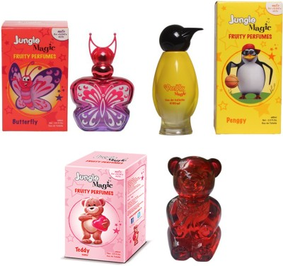 Jungle Magic Butterfly Orange Penggy Yellow Cuddly Teddy Eau de Toilette  -  180 ml