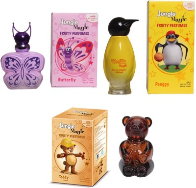 Jungle Magic Butterfly Pink Penggy Yellow Naughty Bear Eau de Toilette  -  180 ml