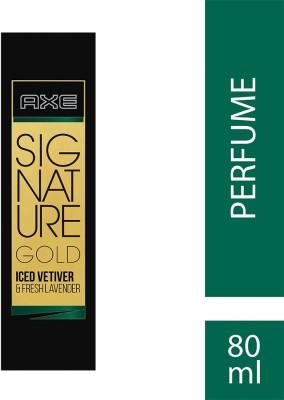 AXE Signature Gold Iced Vetiver & Fresh Lavender Perfume Eau de Toilette - 80 ml(For Men)