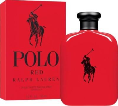 Ralph Lauren Red Natural Spray Vaporisateur Eau de Toilette  -  125 ml