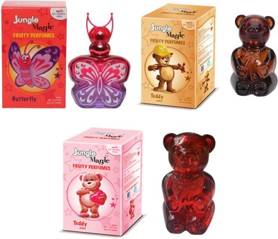 Jungle Magic Butterfly Orange Naughty Bear Cuddly Teddy Eau de Toilette  -  180 ml