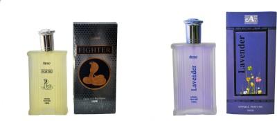 Aone Fighter and lavender Combo Eau de Parfum  -  200 ml