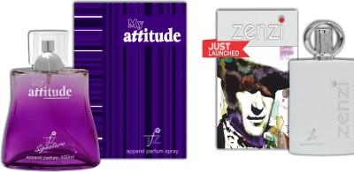 TFZ My Attitude And Zenzi Combo Eau de Parfum  -  200 ml