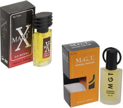 My Tunes Combo Pack Maxi Red 30 Ml & MGT- 30 ml Eau de Parfum  -  60 ml
