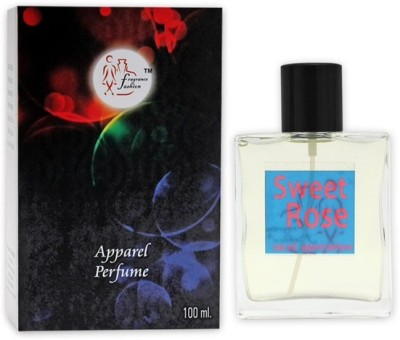 Fragrance And Fashion Sweet Rose Eau de Toilette  -  100 ml
