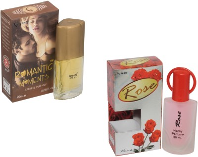 My Tunes Combo Pack Rose 30 Ml & Romantic Moments- 20 ml Eau de Parfum  -  50 ml