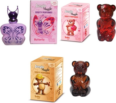 Jungle Magic Butterfly Pink Cuddly Teddy Naughty Bear Eau de Toilette  -  180 ml