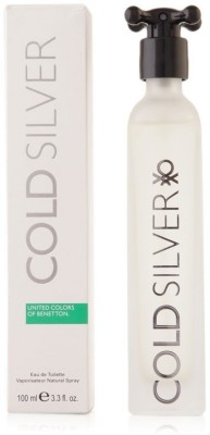 Benetton Cold Silver EDT  -  100 ml