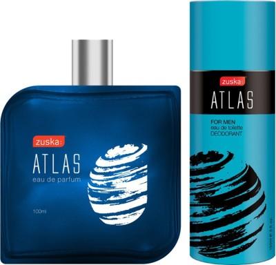 Zuska Atlas Pack (Atlas Perfume+Atlas Deo) Eau de Parfum  -  250 ml