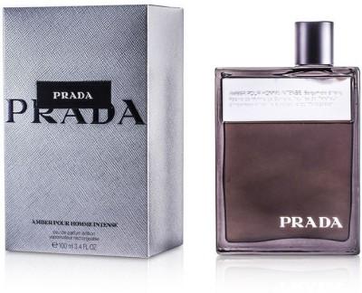 Prada Amber Pour Homme Intense Eau De Parfum Deluxe Refillable Spray Eau de Parfum  -  100 ml