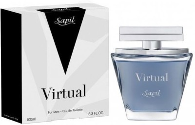 Sapil Virtual Men Perfume Eau de Toilette  -  100 ml