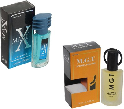 My Tunes Combo Pack Maxi Blue 30 Ml & MGT- 30 ml Eau de Parfum  -  60 ml