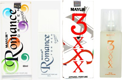 Mayur Fraagrance Lover combo Eau de Parfum  -  120 ml