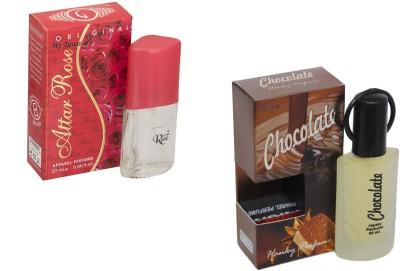 My Tunes Combo Pack Chocolate 30 Ml & Attar Rose- 20 ml Eau de Parfum  -  50 ml