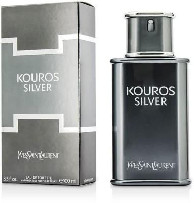 Yves Saint Laurent Kouros Silver Eau De Toilette Spray Eau de Toilette  -  100 ml