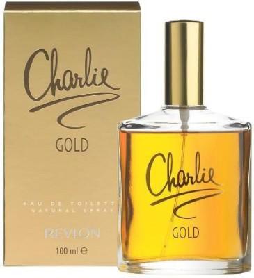 Revlon Charlie Gold Eau Fraiche Vaporisteur - 100 ml(For Women)
