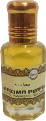 Kazima Attar Khus Non Alcoholic Eau de Parfum  -  10 ml
