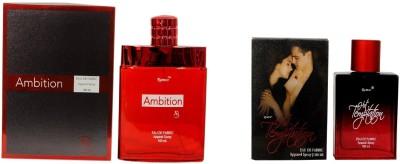 Ramco Ambition and Hot Temptation Combo Eau de Parfum  -  200 ml