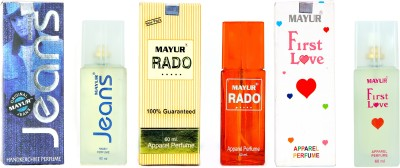 Mayur Best of all perfume combo(3pcs of 60ml) Eau de Parfum  -  180 ml