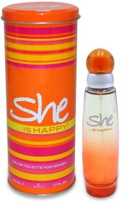 Archies SHE IS HAPPY WOMEN PERFUME Eau de Toilette  -  50 ml(For Women)