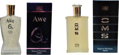 Aone AweQ and CMS Combo Eau de Parfum  -  200 ml