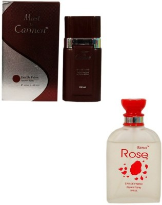Ramco Must De Carmen Red and Rose Combo Eau de Parfum  -  200 ml