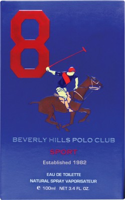 Beverly Hills Polo Club Sport No 8 Eau de Toilette  -  100 ml