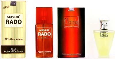 Mayur Best of All Perfume combo Eau de Parfum  -  120 ml