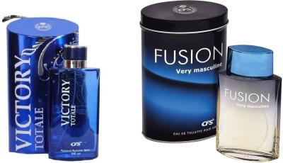 CFS Victory Totale and Fusion Very Masculine Combo Eau de Parfum  -  200 ml