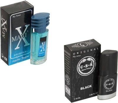 My Tunes Combo Pack Maxi Blue 30 Ml & CBR- 20 ml Eau de Parfum  -  50 ml