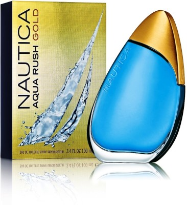 Nautica Aqua Rush Gold EDT - 100 ml(For Men)