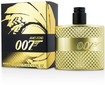 James Bond 007 Eau De Toilette Spray (Limited Edition Gold) Eau de Toilette  -  75 ml